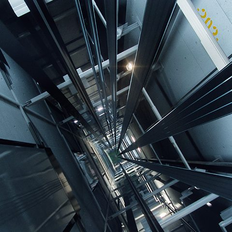 KONE-UltraRope-in-elevator-shaft-2